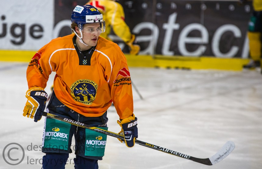 Fredrik Sitje zum SCL