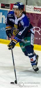 21.11.2015; Schoren, Langenthal; EISHOCKEY NLB – SC Langenthal - HC Red-Ice Martigny – SC Langenthal Stürmer Jeffrey Füglister (Movember). Foto: Leroy Ryser