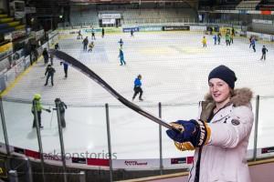 02.12.2015; Stadion Schoren, Langenthal; EISHOCKEY NLB – Portrait Philip Ahlström. Foto: Leroy Ryser