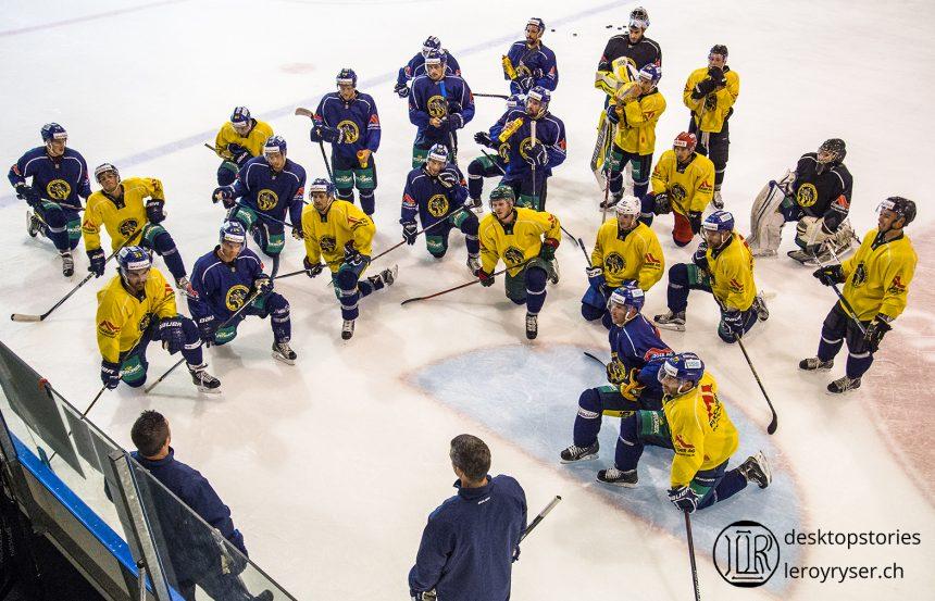 Der SC Langenthal trainiert wieder auf Eis