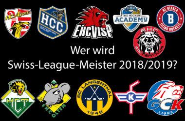 Ein neuer Swiss-League-Meister wird gesucht